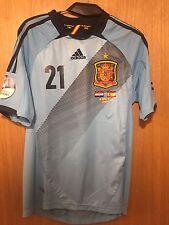 Camiseta Selección Española EURO 2012 SILVA VS CROACIA SPAIN Shirt  Adidas