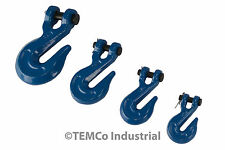 TEMCo Chain Grab Hook Pin Clevis Rigging Tow Transport Truck Trailer Grade 70