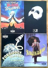 Selection of individual Liverpool Empire programme 1990s, theatre programme