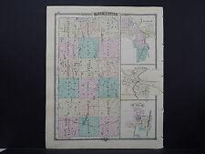 Wisconsin, Map 1881, Waushara County L23#44