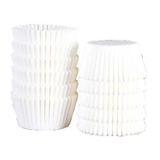 500 PCS White Baking Cups Cupcake Liners Muffin 2.5'' Size