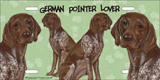 German Pointer License Plate