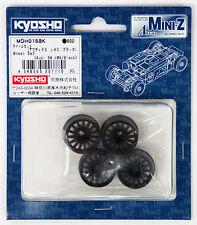 Kyosho Mini Z AWD MDH015BK Wheel Set(Audi R8 LMS/Black)