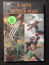 2009 X-MEN And SPIDER-MAN by Christos Gage and Mario Alberti HC Sealed Marvel