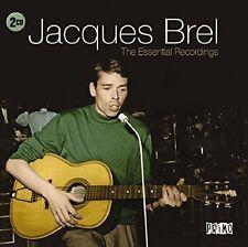 JACQUES BREL - ESSENTIAL RECORDINGS 2 CD NEU