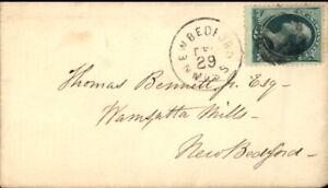 New Bedford Massachusetts (MA) Envelope Wamsutta Mills Thomas Bennett,Jr. Esq.