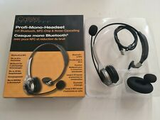 HomeOffice: Callstel Profi-Mono-Headset Bluetooth, NFC-Chip & Noise Cancelling