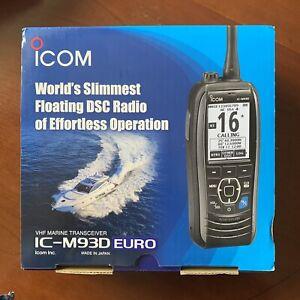 Icom M93D VHF Marine Transceiver with DSC