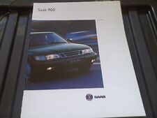 Saab 900 FOLLETO 1994 2.0 Turbo 2.5 V6 2.3 2.0