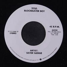 SISTER SLEDGE: Blockbuster Boy / Mono 45 (DJ) Soul