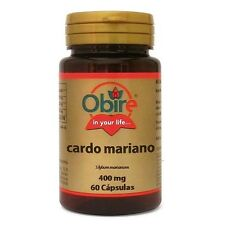 CARDO MARIANO 400 MG 60 CAPS OBIRE Protector hepatico Antioxidante