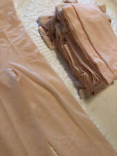 Lot of 14 NEW USA Pink Dance Pantyhose Tights for CRAFTS Adult Size C