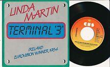"EUROVISION 1984 45 TOURS 7"" HOLLANDE LINDA MARTIN TERMINAL '3'"