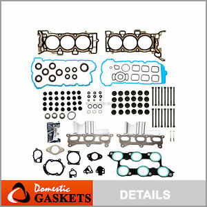 Head Gasket Bolts Set Fit 09-16 Chevrolet Tranverse Buick Enclave GMC 3.6L