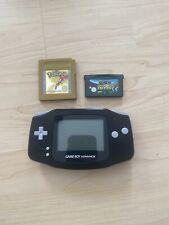 Nintendo Game Boy Advance Handheld-Spielkonsole + 2 Spiele(Pokémon&MarioTennis)