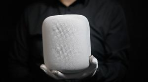 Apple HomePod Smart Speaker White - 'The Masked Man'