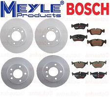 BMW E36 323 325 328 Brake Kit ROTORS & PADS  MEYLE & BOSCH
