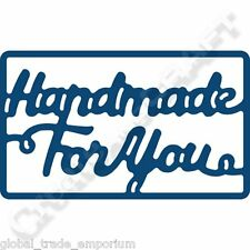 New Tattered Lace 'Handmade For You' Essentials Plaque Die ETL200 - UK FREEPOST