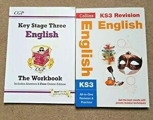 English KS3 revision & Workbook with answers