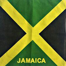 Bandana Jamaica Paisley Halstuch Kopftuch Cannabis Hanf Blatt Reggae Tuch 58
