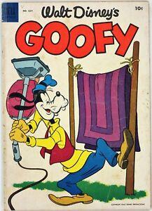 Dell Comics, Walt Disney's Goofy #627, $0.10, 1955 - VG - Four Color