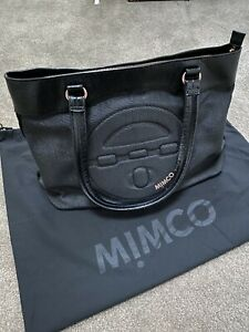 MIMCO Turnlock Tote Bag, Charcoal