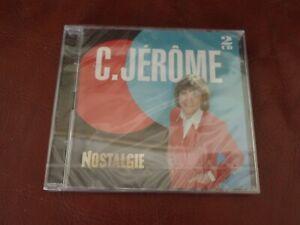 COFFRET 2 CD C.JEROME NOSTALGIE 37 TITRES NEUF SOUS BLISTER COMPIL 2014 MERCURY