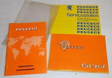 Bordmappe mit Betriebsanleitung / Owner´s Handbook Peugeot 604, St. 09/1977