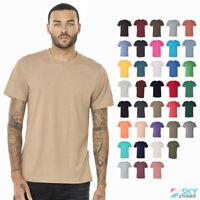 Bella + Canvas Unisex Soft Triblend Short Sleeve Tee Modern Fit T-Shirt - 3413