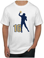 Jared Goff T-Shirt - SUPERSTAR Los Angeles Rams NFL Uniform Jersey #16 LA