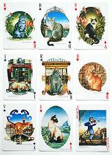 'ATOUT-CHAT' (CATS) p/cards. Heron. France. Artist: BERNARD VERCRUYCE.  SCARCE