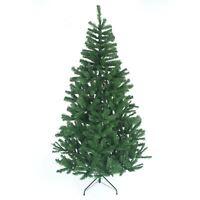 8ft Artificial Christmas Tree Metal Stand Bushy Xmas Tree Traditional Decoration