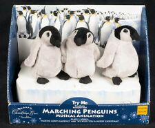 Santa's Best Christmas Eve Marching Penguins Animated Musical See Video
