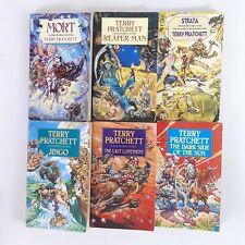 Terry Pratchett Paperback Discworld Bundle x 6 Corgi Josh Kirby Illustrations