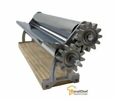 145dough Sheeter Fondant Pizza Roller Tortilla Pasta Maker Machine Chrome Rol