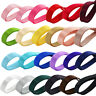 24pcs Double Sided Faced Solid SATIN Quality Tying Ribbon 6mm Mixed Color