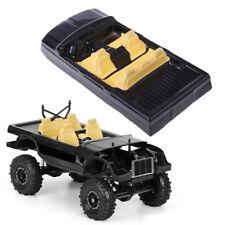 1:10 RC Auto Karosserie Verkleidung für SCX10 II 90046 90047 Cherokee Schwarz