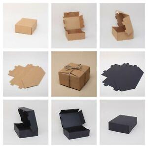 Black or Natural Kraft Gift Boxes * Mini, Small or Medium