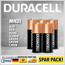 5 Duracell Alkaline Batterie 23A 12V Volt p23ga 8LR932 Mn21 V23GA A23 Ø10