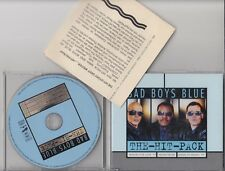 BAD BOYS BLUE The Hit Pack Hungry For Love etc CD MAXI W PRESS INFO SHEET