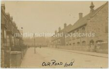 Sheffield, Wiseton Road 1908 Real Photo Postcard, C023