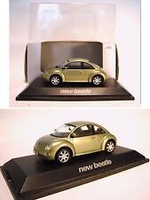 Schuco 1/43 VW New Beetle grün OVP #156