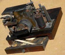 alter Telegraph Morsegerät gestempelt Königskrone 1881 ?