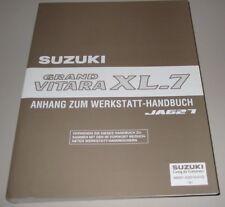 Werkstatthandbuch Suzuki Grand Vitara XL-7 Typ JA 621 Langversion Stand 2003