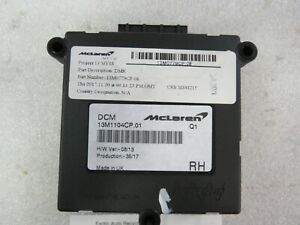 McLaren 570S, RH, Right Door Chassis Control Module, Used, P/N 13M1104CP
