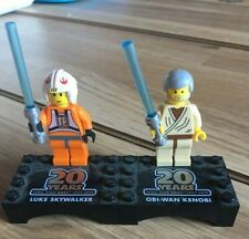 LEGO Star Wars 20th Anniversary Luke Skywalker & Obi Wan Kenobi Minifigures