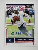 2017 Score Rookie Autographs #356 Gerald Everett Auto - NM-MT