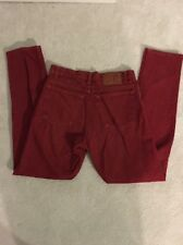 Vintage USA Made Red Levis 550 High Waisted Mom Jeans Sz 32x32 Red Tab Tapered