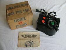 Vintage Lionel Trains 125 Watt AC Type LW Transformer w/ Box EX
