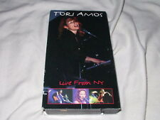 TORI AMOS Live From NY (1997) VHS Tape Madison Square Garden Concert Hi-Fi